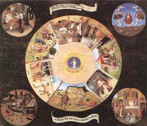 Hieronymus Bosch, The Seven Deadly Sins and The Four Last Things