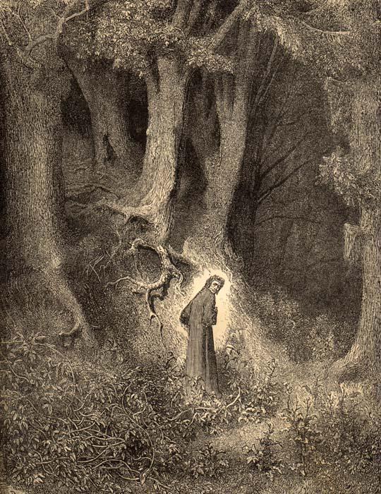 Dante's woods