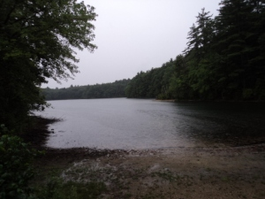 Walden Pond, when I visited in 2012